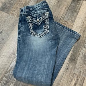 Miss Me Signature Rise Denim